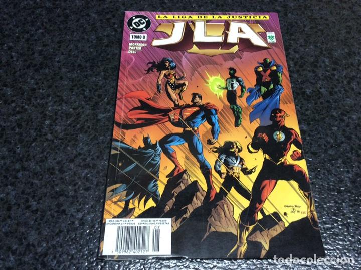JLA ( LA LIGA DE LA JUSTICIA ) TOMO Nº 8 -ED. EDITORIAL VID - (Tebeos y Comics - Norma - Comic USA)