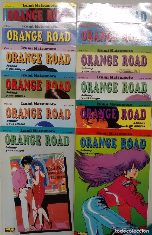 COMIC, ORANGE ROAD. JOHNNY Y SUS AMIGOS, IZUMI MATSUMOTO,12 NÚMEROS (DEL 1 AL 12) ,NORMA EDITORIAL (Tebeos y Comics - Norma - Otros)