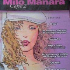 Cómics: MILO MANARA COFRE 2 COMPLETO 17 TOMITOS.. Lote 87705920