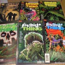 Comics - La Cosa del pantano, de Alan Moore, colección completa, 6 tomos, Swamp Thing, ed. Norma, ercom - 88226244