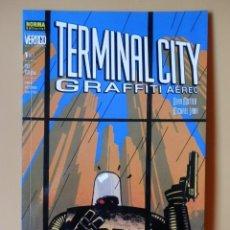 Cómics: TERMINAL CITY. GRAFFITI AÉREO. Nº 1 DE 2. COLECCIÓN VÉRTIGO, Nº 127 - DEAN MOTTER. MICHAEL LARK. Lote 88743831
