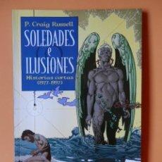 Comics : SOLEDADES E ILUSIONES. HISTORIAS CORTAS (1977-1997) - P. CRAGI RUSSELL. Lote 88743855