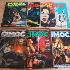 Cómics: CIMOC - LOTE 8 NÚM ¡INCLUYE Nº1!- 1, 11, 23, 30, 38, 65, 67 Y 70. NORMA.. Lote 88874668