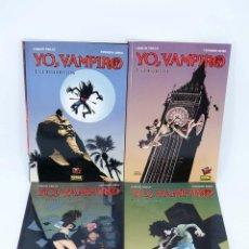 Comics - MADE IN HELL 2 6 9 Y 13. YO VAMPIRO 1 AL 4 COMPLETA (Trillo / Risso) Norma, 2005. OFRT antes 41,95E - 147054505