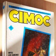 Cómics: CIMOC Nº1 - TAPA DURA (RETAPADO) - CONTIENE NUMS. 19, 20, 21. Lote 88997160
