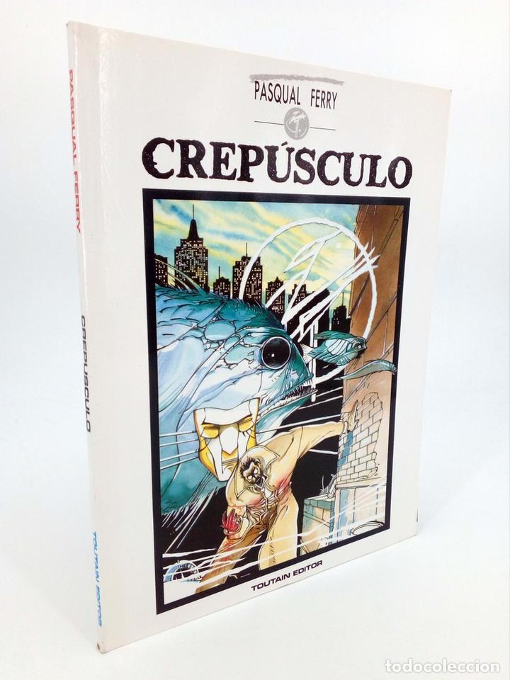CREPÚSCULO (PASQUAL FERRY) TOUTAIN, 1989. OFRT (Tebeos y Comics - Norma - Comic USA)
