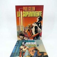 Cómics: LA SUPERVIVIENTE 1 Y 2 (PAUL GUILLON) TOUTAIN, 1990. OFRT. Lote 183538402