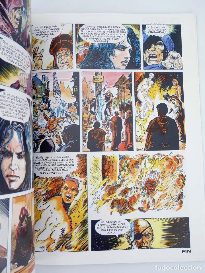 Cómics: EN EL NOMBRE DEL DIABLO (Esteban Maroto) Toutain, 1991. OFRT - Foto 3 - 207067296