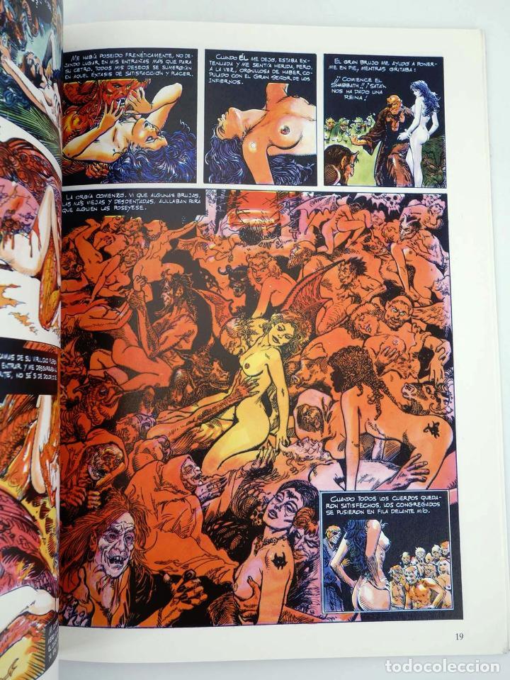 Cómics: EN EL NOMBRE DEL DIABLO (Esteban Maroto) Toutain, 1991. OFRT - Foto 5 - 207067296