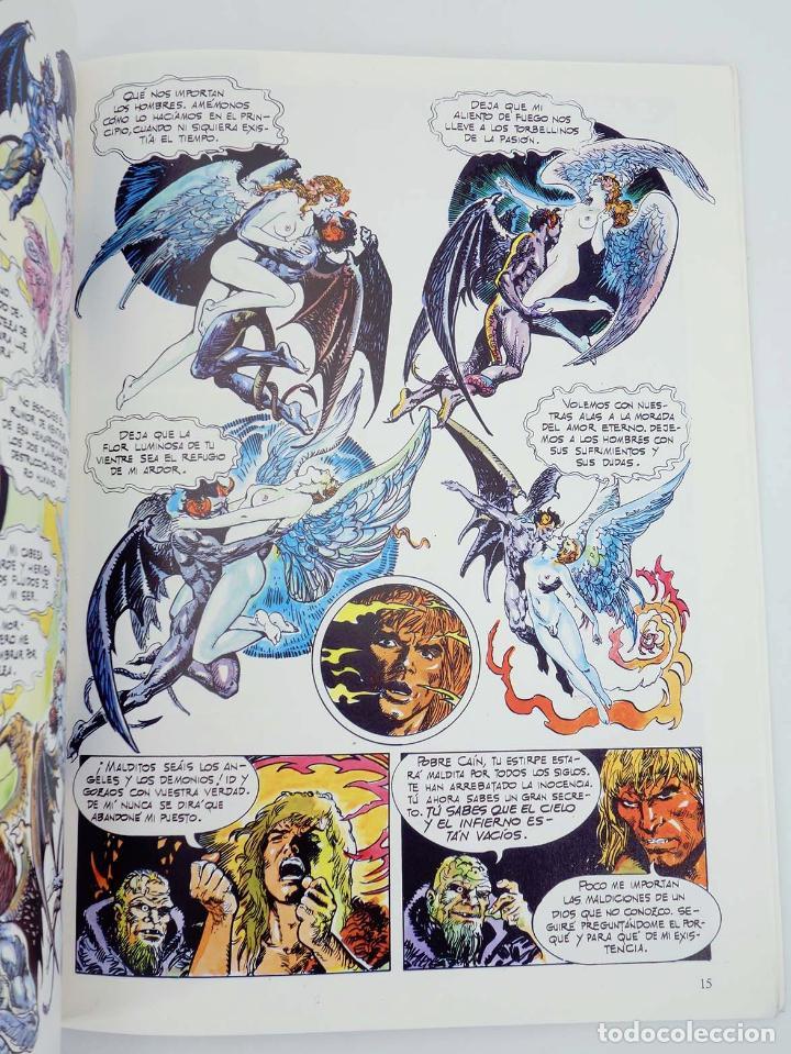Cómics: EN EL NOMBRE DEL DIABLO (Esteban Maroto) Toutain, 1991. OFRT - Foto 6 - 207067296