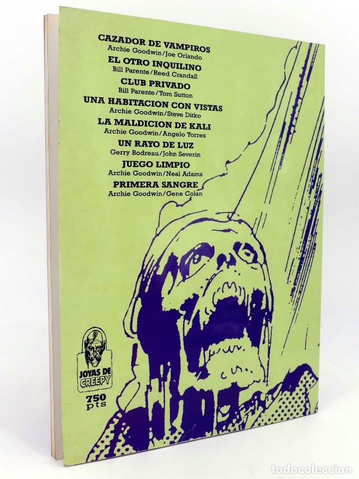 Cómics: JOYAS DEL CREEPY LAS MEJORES HISTORIAS DE VAMPIROS 2 (Ditko, Adams, Colan, etc) Toutain, 1991. OFRT - Foto 3 - 211433629