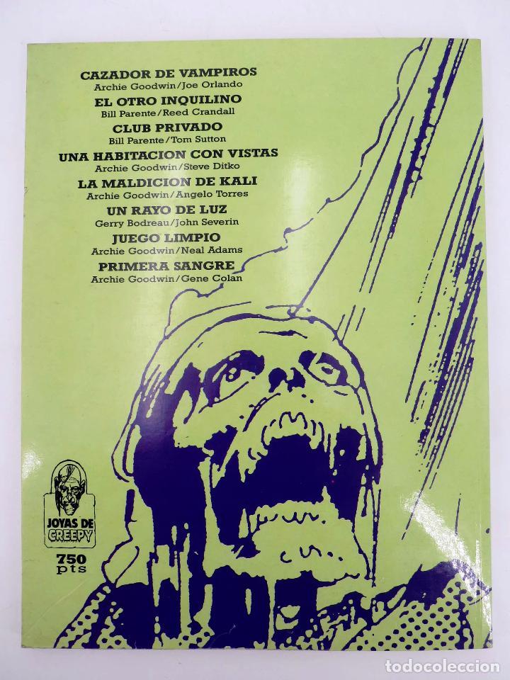 Cómics: JOYAS DEL CREEPY LAS MEJORES HISTORIAS DE VAMPIROS 2 (Ditko, Adams, Colan, etc) Toutain, 1991. OFRT - Foto 4 - 211433629