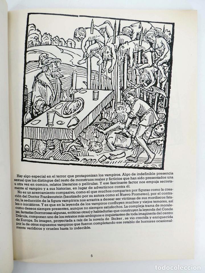 Cómics: JOYAS DEL CREEPY LAS MEJORES HISTORIAS DE VAMPIROS 2 (Ditko, Adams, Colan, etc) Toutain, 1991. OFRT - Foto 6 - 211433629