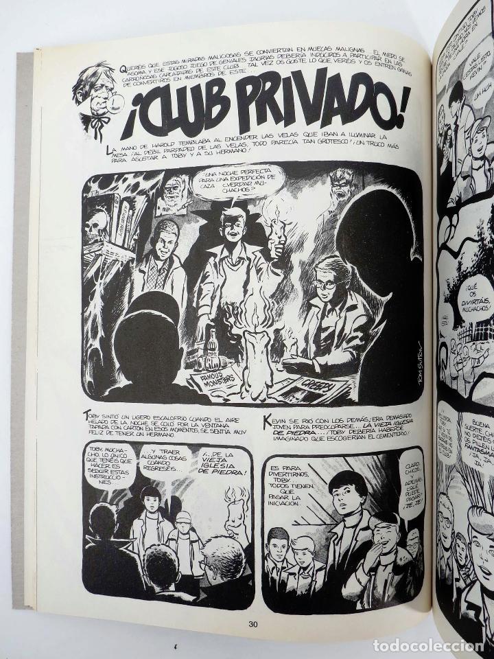 Cómics: JOYAS DEL CREEPY LAS MEJORES HISTORIAS DE VAMPIROS 2 (Ditko, Adams, Colan, etc) Toutain, 1991. OFRT - Foto 9 - 211433629