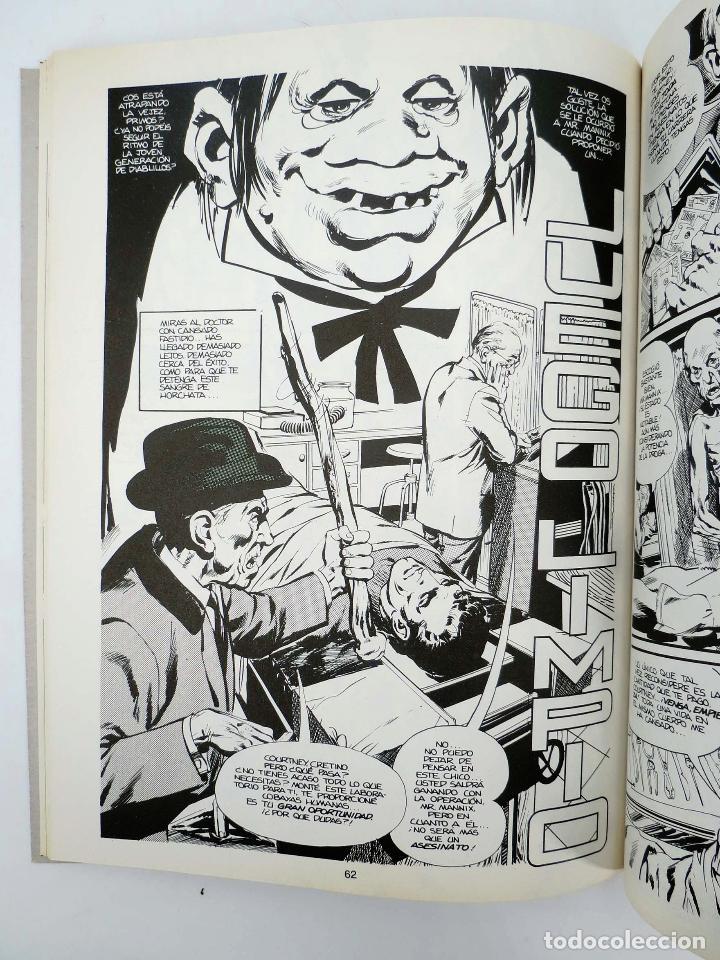 Cómics: JOYAS DEL CREEPY LAS MEJORES HISTORIAS DE VAMPIROS 2 (Ditko, Adams, Colan, etc) Toutain, 1991. OFRT - Foto 13 - 211433629