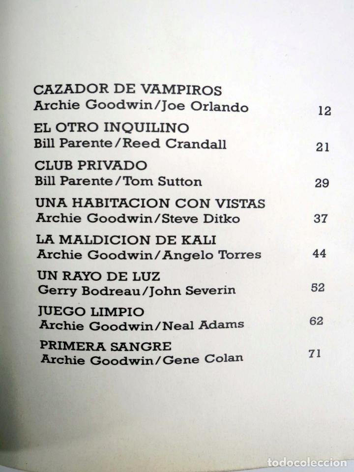 Cómics: JOYAS DEL CREEPY LAS MEJORES HISTORIAS DE VAMPIROS 2 (Ditko, Adams, Colan, etc) Toutain, 1991. OFRT - Foto 15 - 211433629