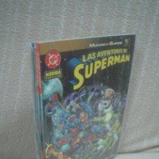 Cómics: LAS AVENTURAS DE SUPERMÁN - MUNDOS EN GUERRA COMPLETA 4 NÚMEROS. Lote 108429691