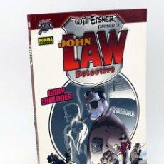 Comics - COMIC NOIR 13. JOHN LAW DETECTIVE (Gary Chaloner / Will Eisner) Norma, 2006. OFRT antes 8E - 161427429