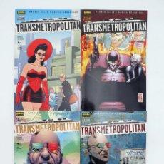 Comics : COL VERTIGO 188 190 194 Y 196. TRANSMETROPOLITAN REGRESO A LOS ORIGENES 1 A 4 COMPLETA (ELLIS / ROBE. Lote 144465040