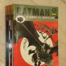Cómics: BATMAN LA SOMBRA DEL MURCIELAGO COMPLETA 9 TOMOS - NORMA - OFERTA. Lote 90754445