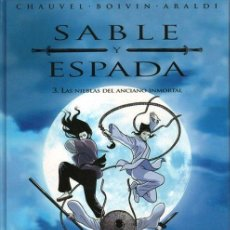 Cómics: SABLE Y ESPADA.OBRA COMPLETA: 3 TOMOS. EDICIONES B. Lote 151519290