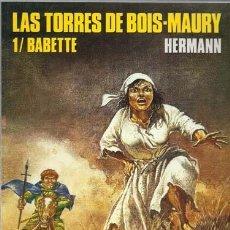 Cómics: CIMOC EXTRA COLOR 79, LAS TORRES DE BOIS-MAURY 1/ BABETTE, 1991, PRIMERA EDICIÓN, BUEN ESTADO. Lote 245779140