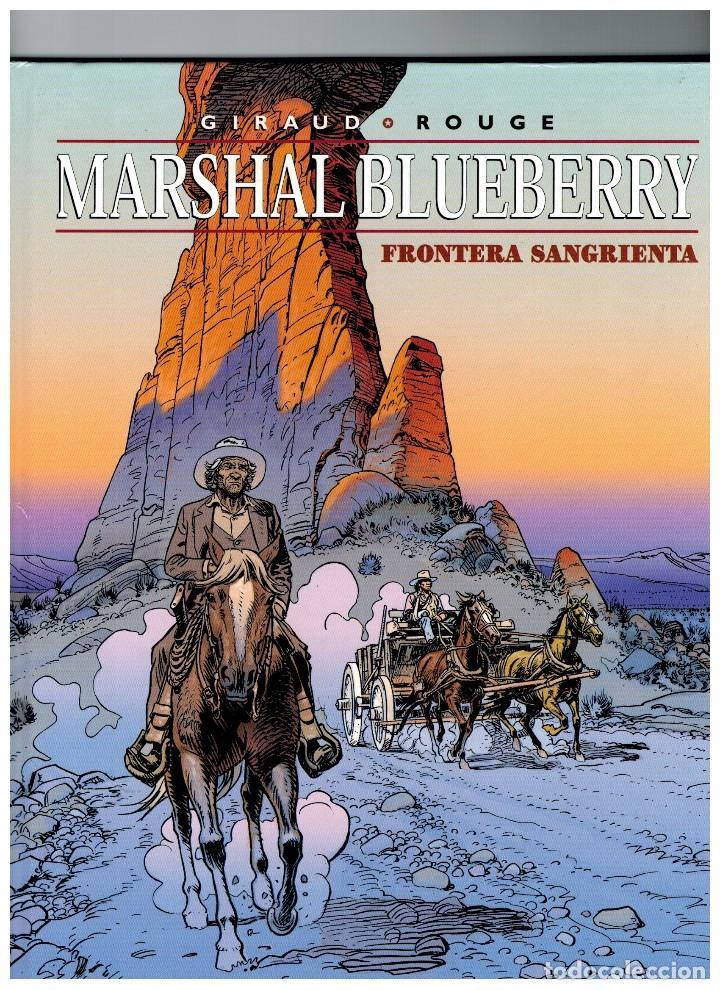 MARSHAL BLUEBERRY -FRONTERA SANGRIENTA- Nº 39 (Tebeos y Comics - Norma - Comic Europeo)