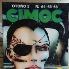 Cómics: CIMOC OTOÑO 3. RETAPADO CONTIENE 64,65,66. NORMA EDITORIAL.. Lote 91987780