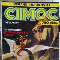 Cómics: CIMOC VERANO 1. RETAPADO CONTIENE 39,40,41. NORMA EDITORIAL.. Lote 91987860