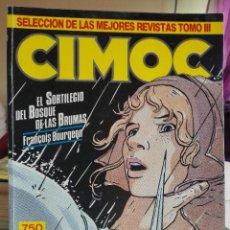 Cómics: CIMOC SELECCION DE LAS MEJORES REVISTAS TOMO III.RETAPADO 42,43,49,51. NORMA EDITORIAL.. Lote 92043895