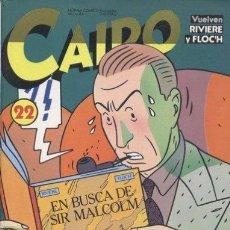 Cómics: CAIRO ANTOLOGÍA Nº 7 CON LOS NÚMEROS 22, 23 Y 24 DEL AÑO 1984 CON RIVIERE, CEESEPE Y MUCHOS MÁS. Lote 92162780