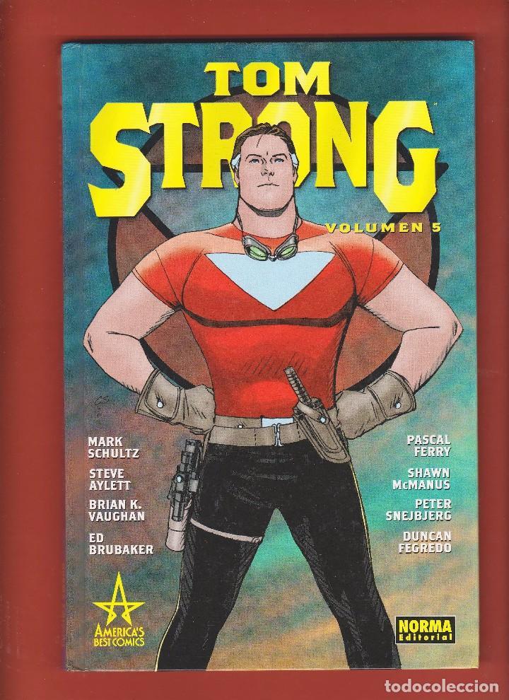 ALAN MOORE. TOM STRONG. VOLUMEN Nº 5 . IMPECABLE Y DESCATALOGADO. TAPA DURA. (Tebeos y Comics - Norma - Comic USA)