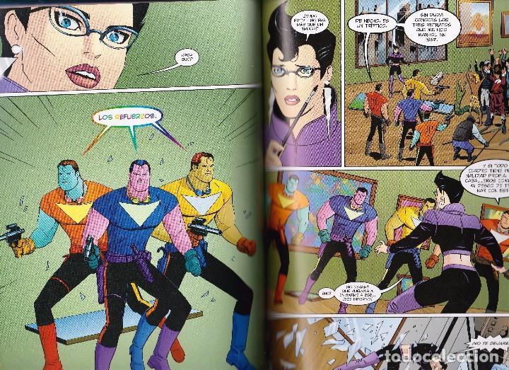 Cómics: Alan Moore. Tom Strong. Volumen nº 5 . Impecable y descatalogado. Tapa dura. - Foto 4 - 92244685