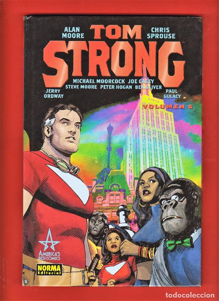 ALAN MOORE. TOM STRONG. VOLUMEN Nº 6 . IMPECABLE Y DESCATALOGADO. TAPA DURA. (Tebeos y Comics - Norma - Comic USA)