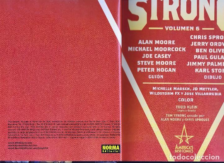 Cómics: Alan Moore. Tom Strong. Volumen nº 6 . Impecable y descatalogado. Tapa dura. - Foto 3 - 92244880