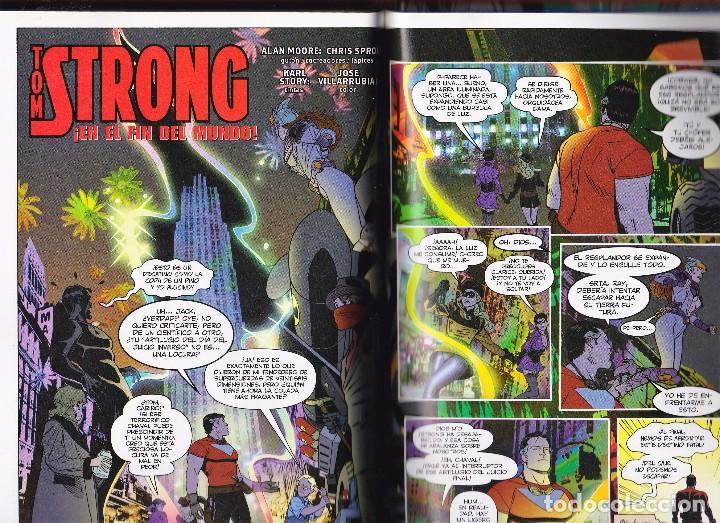 Cómics: Alan Moore. Tom Strong. Volumen nº 6 . Impecable y descatalogado. Tapa dura. - Foto 5 - 92244880