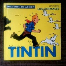 Cómics: TINTÍN - DESCUBRO LOS ANIMALES. EDITORIAL NORMA. Lote 92897782