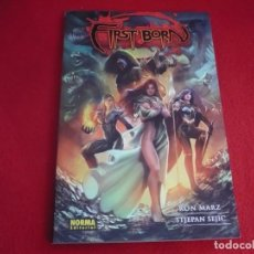 Cómics: WITCHBLADE 9 FIRST BORN ( RONMARZ STJEPAN SEJIC ) ¡MUY BUEN ESTADO! NORMA TOP COW. Lote 92967820