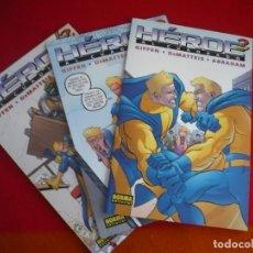 Cómics: HEROE AL CUADRADO 1, 2 Y 3 ( GIFFEN DEMATTEIS ) ¡MUY BUEN ESTADO! NORMA. Lote 92968175