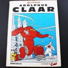 Cómics: ADOLPHUS CLAAR, NORMA EDITORIAL LOS ALBUMES DE CAIRO 1985 32 PAGINAS. Lote 93029240
