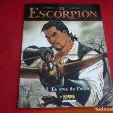 Cómics: EL ESCORPION 3 LA CRUZ DE PEDRO ( DESBERG MARINI ) ¡MUY BUEN ESTADO! NORMA EUROPEO. Lote 93772530