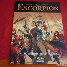 Cómics: EL ESCORPION 4 EL DEMONIO EN EL VATICANO ( DESBERG MARINI ) ¡MUY BUEN ESTADO! NORMA EUROPEO. Lote 93772800