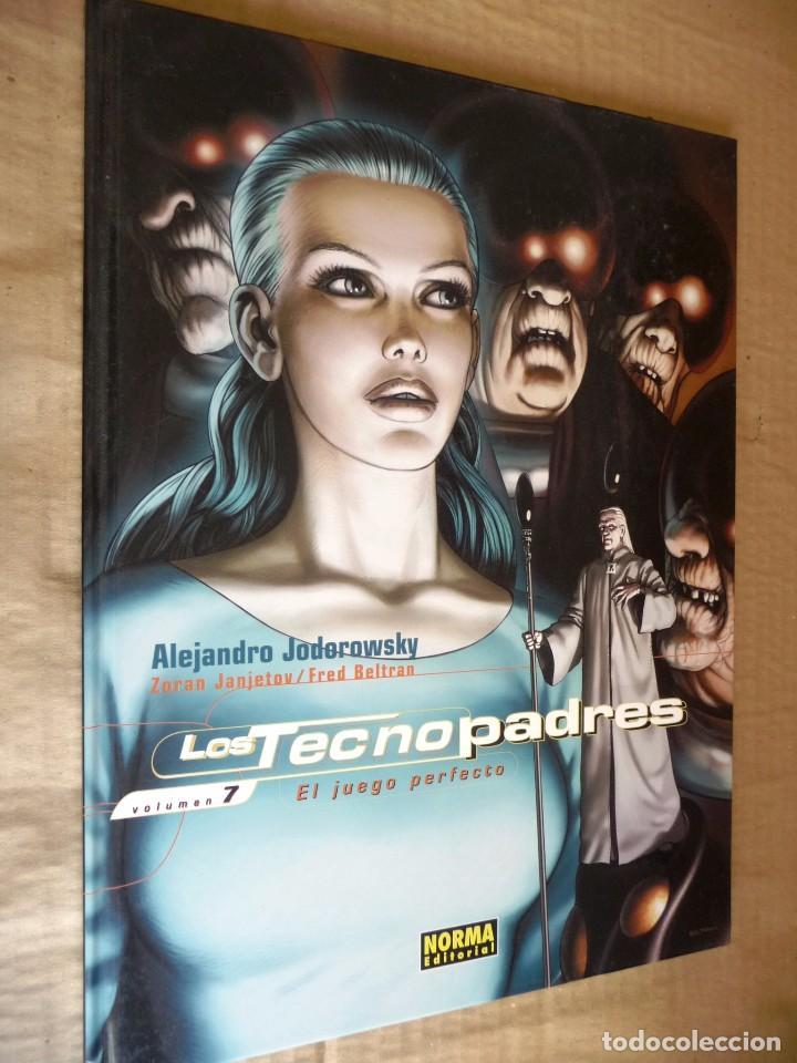 LOS TECNOPADRES. TOMO 7. EL JUEGO PERFECTO. JODOROWSKY. NORMA EDITORIAL (Tebeos y Comics - Norma - Comic Europeo)