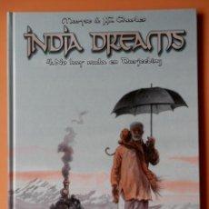 Cómics: INDIA DREAMS. 4. NO HAY NADA EN DARJEELING - MARYSE & JEAN-FRANÇOIS CHARLES. Lote 94008302