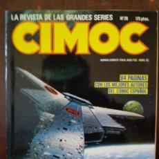 Cómics: CIMOC 26. NORMA EDITORIAL. . Lote 94096585