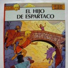 Cómics: ALIX. EL HIJO DE ESPARTACO. JACQUES MARTIN. NORMA EDITORIAL. Lote 94131540