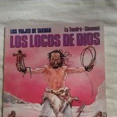 Cómics: LOS LOCOS DE DIOS - LOS VIAJES DE TAKUAN 1. Lote 94051350