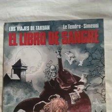 Cómics: EL LIBRO DE SANGRE. LOS VIAJES DE TAKUAN 2. Lote 94051535
