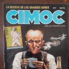 Cómics: CIMOC 17. NORMA EDITORIAL. . Lote 94294414