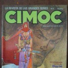 Cómics: CIMOC 27. NORMA EDITORIAL.. Lote 94294514